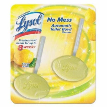 RECKITT BENCKISER PROFESSIONAL No Mess Automatic Toilet Bowl Cleaner, Citrus, 2/Pack (83723)
