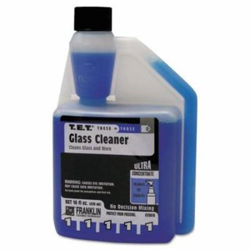 FRKF378616 - T.e.t. 1 Glass Cleaner, Clean Scent, Liquid, 16 Oz. Bottle