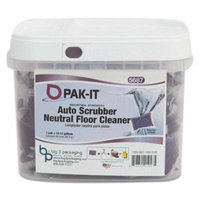 PAK-IT - Auto-Scrubber Neutral Floor Cleaner, Citrus Scent, 50/Tub 568720003200 (DMi EA