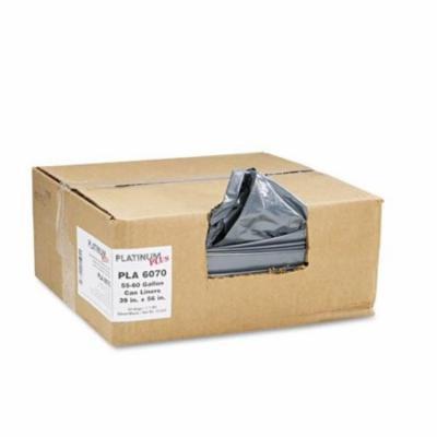 Can Liner, Super Hexene Resin 55-60gal, 1.55mil, 39 x 56, 50/Carton, Sold as 1 Carton