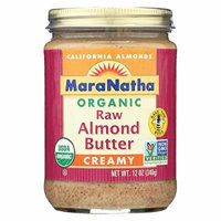 Maranatha Almond Btr,Og2,Raw,Creamy 12 Oz (Pack Of 6)
