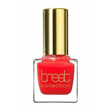 treat collection - Vegan / 5 Free Nail Polish GODDESS (Shiny Bright Orange Red)