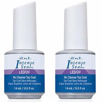 IBD INTENSE SEAL LED/UV Gel Shine Top Coat Acrylics / Net wt 0.5 FL oz {Pack 2}
