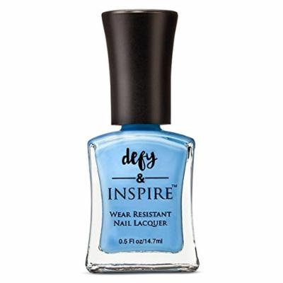 Defy & INSPIRE Nail Polish Purples Greens & Blues big brother 0.5 oz