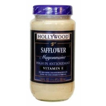 Hollywood Safflower Mayonnaise, 24 Ounce Bottle