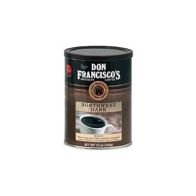 Don Francisco's, Northwest Dark Ground Coffee, 12oz Can (Pack of 2)