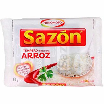 AjiNoMoto Sazon Arroz , Rice Seasoning - 60gr 2.11oz (4 Pack)