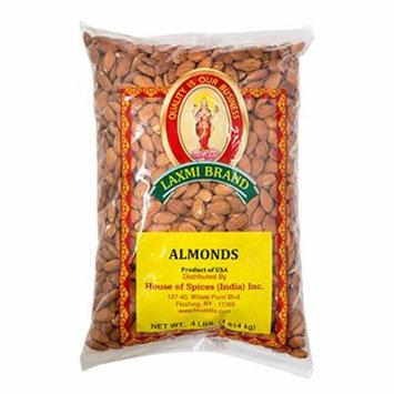 Laxmi Whole Almonds - 4lb (2-Pack)