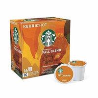 Keurig K-Cup Pack 16-Count Starbucks Fall Blend 2017 Medium Roast Coffee (Pack of 2)