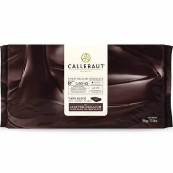 Callebaut L-60-40 Belgian Dark Chocolate Baking Block 60.6%, 1 Block / 11 pounds