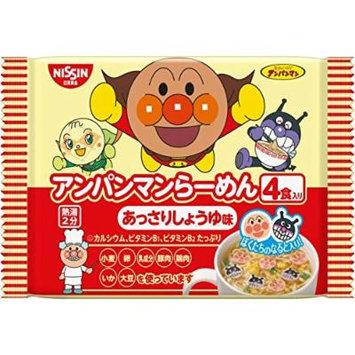 Anpanman Ramen soy sauce 4 meals × 12 Instant Noodles Japan