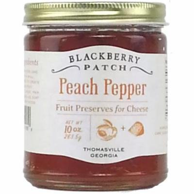 Peach Pepper Preserves for Cheese (3 pack)