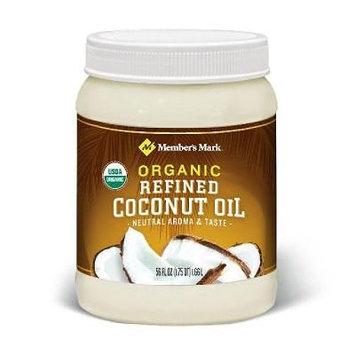 Member's Mark Organic Refined Coconut Oil (56 oz.) (pack of 6)