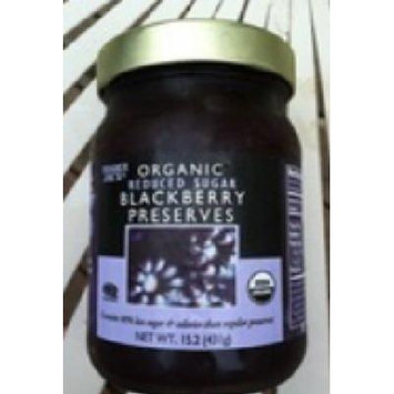 Trader Joe's Organic Blackberry Preserves (Reduced Sugar) 15.2 oz.