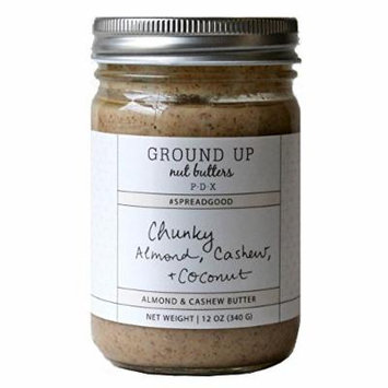 Chunky Almond, Cashew + Coconut Butter