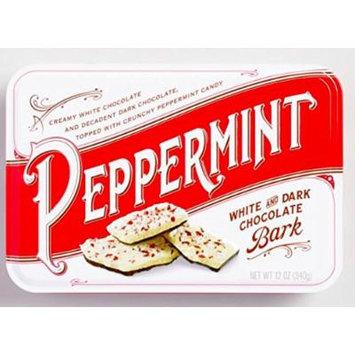 Peppermint Bark Thin (White&Dark Chocolate)