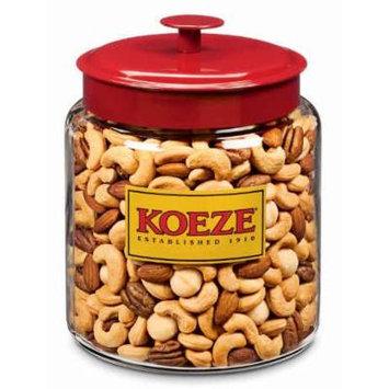 Crowd Pleaser - Mixed Nuts with Macadamias - 4.25 Lb. Jar