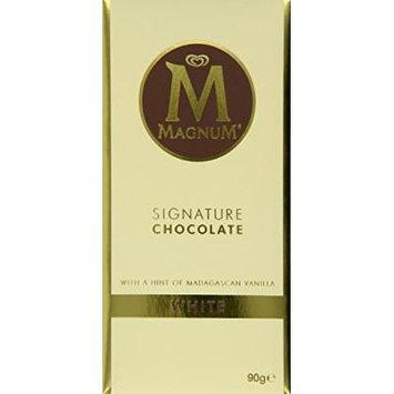 Magnum Signature Chocolate White Block, 90 g (Pack of 3)