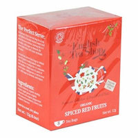 English Tea Shop - Spiced Red Fruits - 8 Tea Bags - 12g (Case of 12)