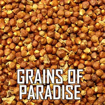 The Spice Lab No. 56 - Grains of Paradise (Alligator Pepper), 1 lb Resealable Bag - All Natural Kosher Non GMO Gluten Free