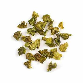 The Spice Lab No. 74 - Sweet Green Bell Pepper Flakes, 1 lb Resealable Bag