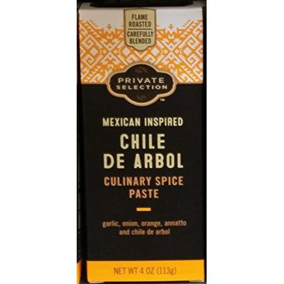 Private Selection Chile de Arbol Culinary Spice Paste 4 oz (Pack of 3)