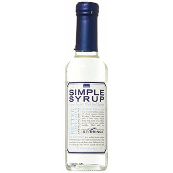 Stirrings Simple Cane Sugar Cocktail Syrup, Made with Pure Cane Sugar , 12 Oz , Pack of 3