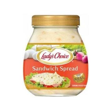 Lady's Choice Sandwich Spread 7.43oz (220ml) Pack of 6