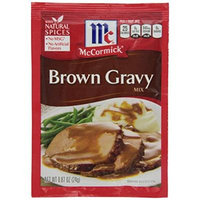 McCormick Brown Gravy Mix - 0.87 Ounce ( Case of 24 )