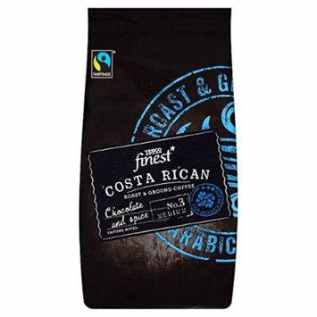 Tesco Finest Costa Rican Fair Trade Coffee 227G