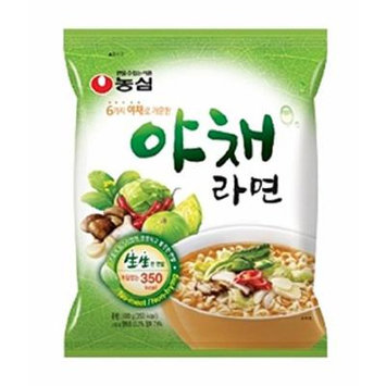 NONGSHIM Vegetable Ramen Ramyun Noodle soup 3.52 ounce (Pack of 5)