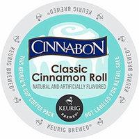 Cinnabon Classic Cinnamon Roll K-Cup (72 Count)