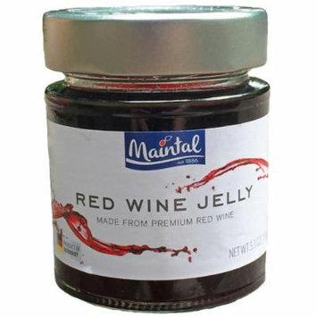 Maintal Red Wine Jelly 4 Pack, 5.3 oz. Jars (Red Wine)
