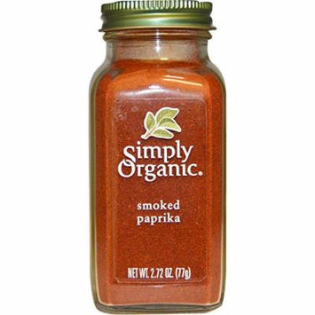 Simply Organic, Organic Smoked Paprika, 2.72 oz(Pack of 2)