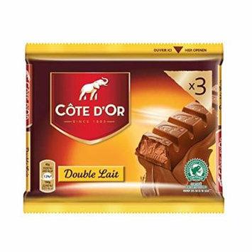 Cote D'Or , Candybars , Double Lait , 3x46gr - 138gr/0.32oz