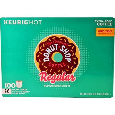 The Original Donut Shop Regular Keurig K-Cup Pack, (100 Pods)