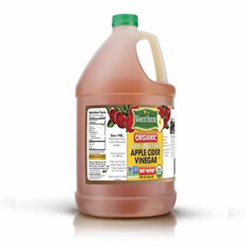 (1 GALLON) 128oz White House Organic Apple Cider Vinegar