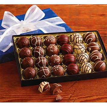 Harry and David Holiday Truffles Hand Decorated Chocolates