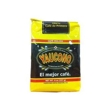 Cafe Yaucono Ground Coffee Cafe Molido 8oz 8 Pack