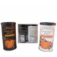 McSteven's Harvest Spice Pumpkin White Chocolate and Pumpkin Cocoa Mixes (2-7oz tins)