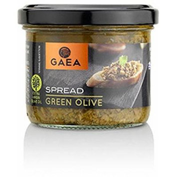 Gaea Green Olive Spread 100g (Pack of 6)