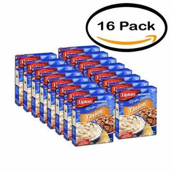 PACK OF 16 - Lipton Onion Recipe Soup & Dip Mix, 1.9 oz