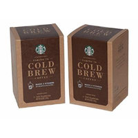 Starbucks Narino 70 Cold Brew Coffee Pitcher Packs - 4 Packs -Makes (12) 8 fl oz Servings per Box (2 Boxes)