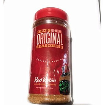 3 PACK -RED ROBIN ALL-NATURAL ORIGINAL SEASONING 3-16 OZ BOTTLES