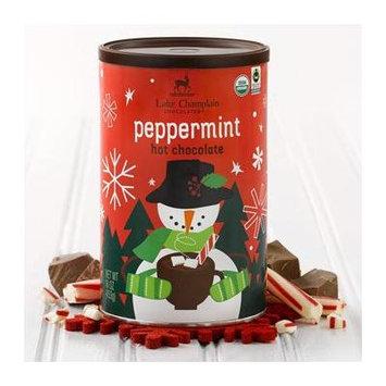Lake Champlain Holiday Peppermint Organic Hot Chocolate, 21 Servings, 1 Pound