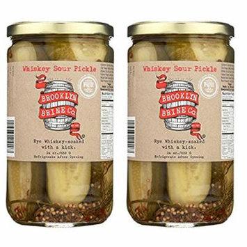 Brooklyn Brine Pickles- Whiskey Sour- 24 oz (2 Jars)