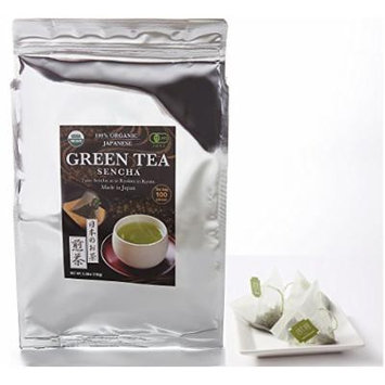 Zen no Ocha Japanese Green Tea Sencha 100 pieces 1.5g Tea Bags Organic Made in Kyoto Japan