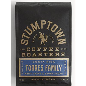 Stumptown Coffee Roasters Whole Beans, COSTA RICA TORRES FAMILY, Direct Trade12oz