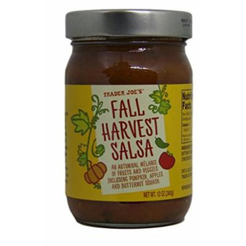 Trader Joe's - Fall Harvest Salsa - 12 Ounce Jar - Pack of 2