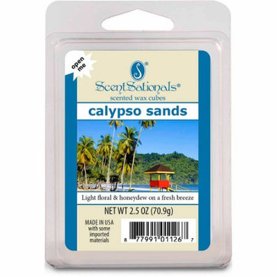 Rimports Usa Llc ScentSationals Wax Cubes, Calypso Sands